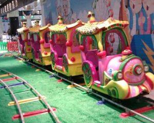 mini track train rides for sale
