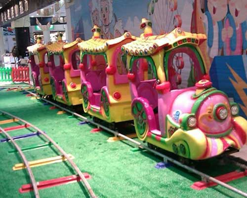 mini track train rides for sale