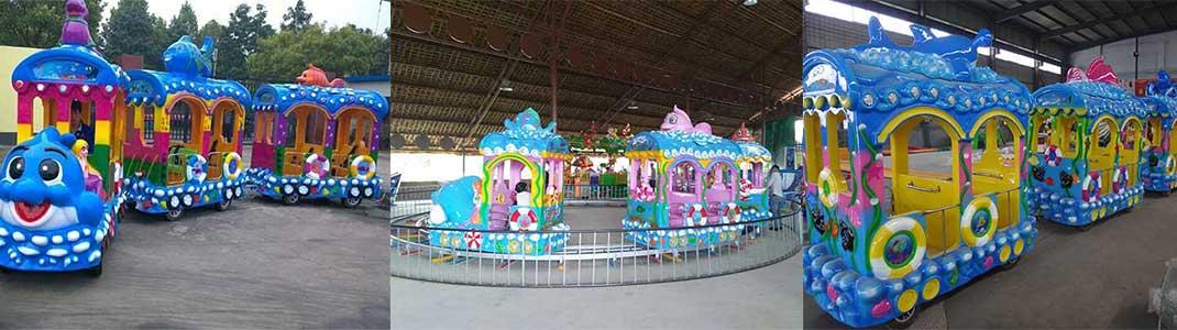 ocean themed train ride supplier Beston group