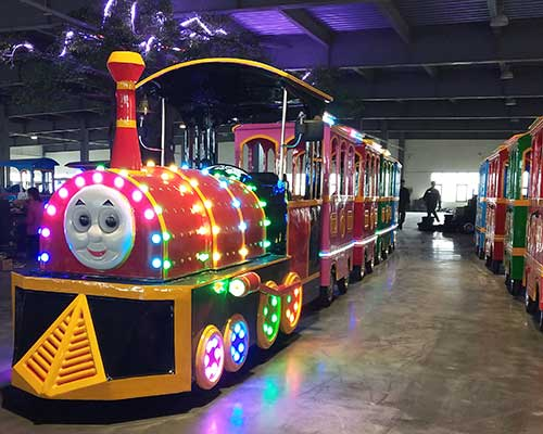 thomas trackless train manufacturer Beston group in China