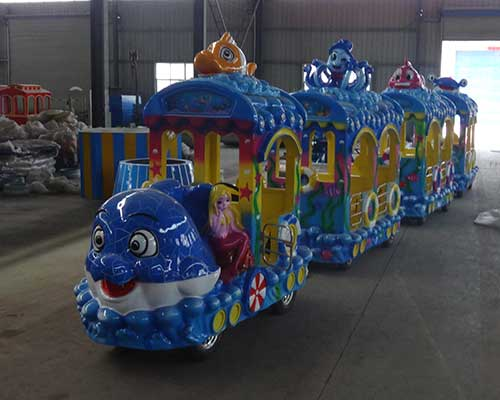 indoor attraction kids ride mall train rides supplier Beston group