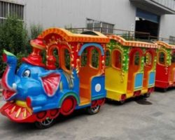 amusement park electric elephant train rides manufacturer Beston group in China