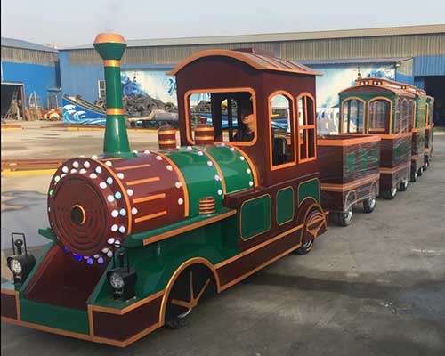vintage amusement park trains for sale