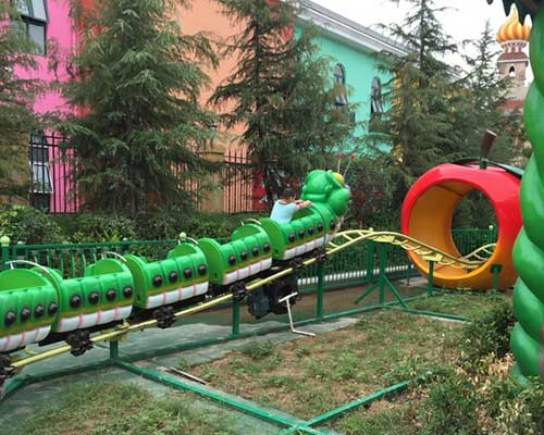 caterpillar roller coaster manufacturer Beston
