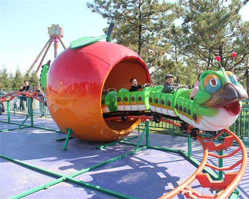Apple Worm Roller Coasters for Sale